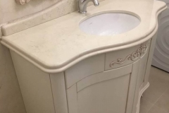 Bathroom tables made of marble and granite
