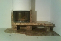 Fireplace decoration ZA007