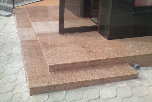 Granite And Marble Stair Steps