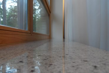 Window sills made of natural stone